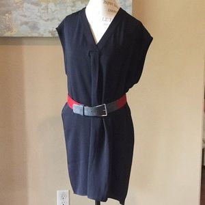 Adrienne Vittadini shirt dress EUC